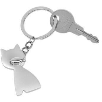 """""""Cat & fish"""" kulcstartó"""