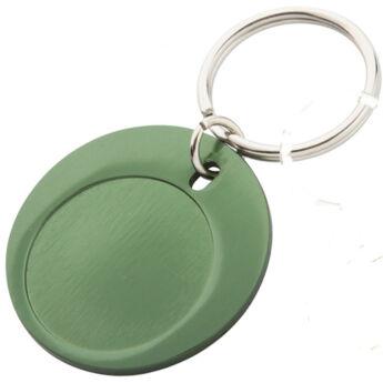 Deal kulcstartó - alumínium, mind a két oldala gravírozható www.ajandekgravirozo.hu