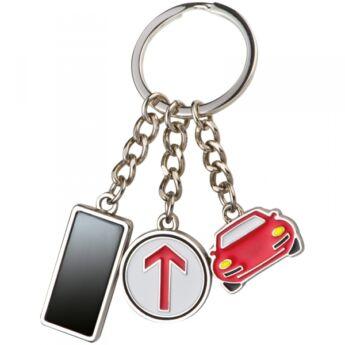 Kulcstartó - függelékkel - autó