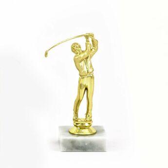 Golf figura - 14 cm-es