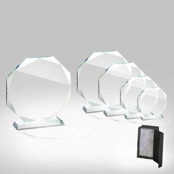 Stockholm üveg díj - 17 cm-es