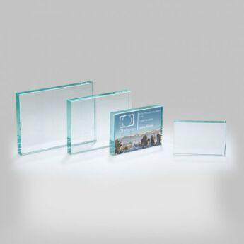 """""""Cox"""" üveg díj - 15 x 21 cm"""