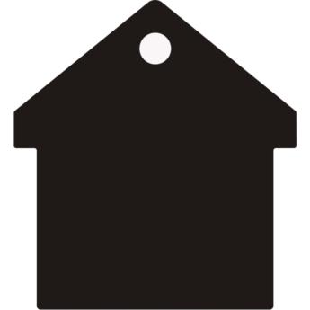 """""""Casa"""" biléta - ház"""