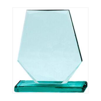 Üveg díj - 19 cm-es