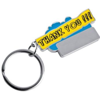 """Thank You"" kulcstartó"