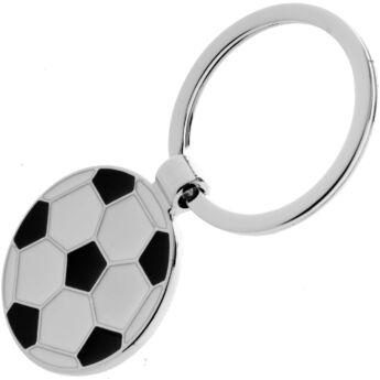 Labda alakú, gravírozható kulcstartó - www.ajandekgravirozo.hu
