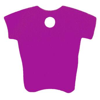 lila színű gravírozható kutyabiléta